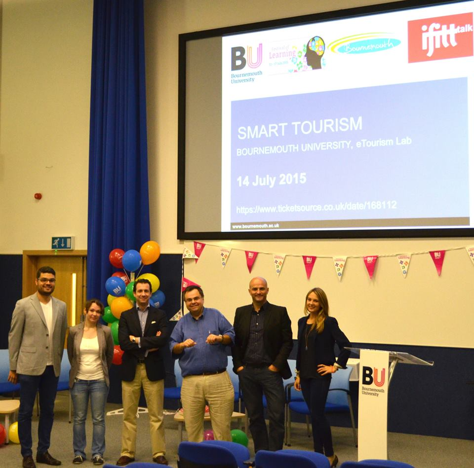 IFITTtalk@Bournemouth – Smart tourism workshop – Bournemouth, UK